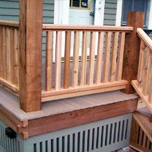 WOOD RAILINGS